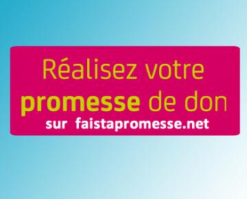 MNA soutient « Fait ta promesse » avec l'EFS